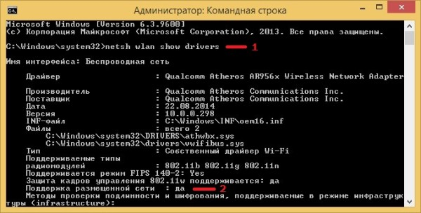 Раздача WIFI Windows 8