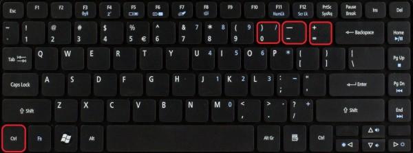 Как увеличить шрифт на ноутбуке в Яндексе
