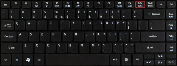 Как сделать Print Screen на компьютере