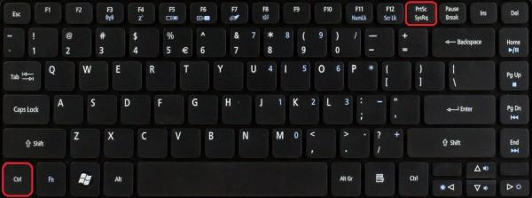 Как сделать Print Screen на ноутбуке