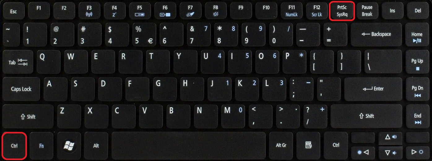 Как сделать screenshot экрана windows 10