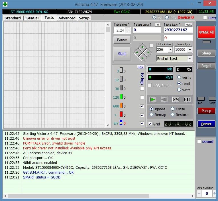 Скачать программа для проверки жесткого диска виктория